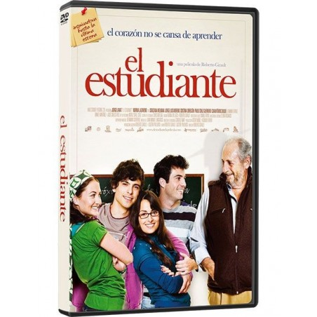 El Estudiante DVD película con valores recomendada