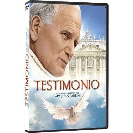 Testimonio: La historia inédita del Papa Juan Pablo II (DVD)