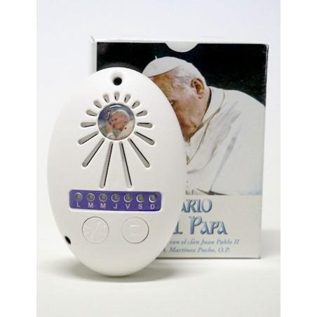 El Rosario del Papa electronico (altavoz)