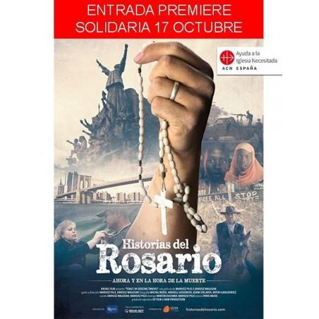 Entrada Premiere Entrada Solidaria - 17 octubre cine PAZ - Historias del Rosario