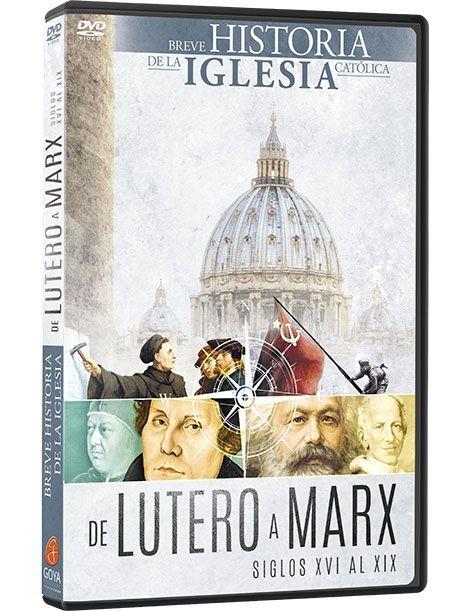Dvd Breve Historia De La Iglesia Catolica De Lutero A Marx