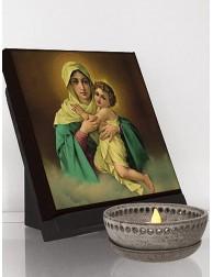 Icono clásico de Nuestra Señora de Schöenstatt