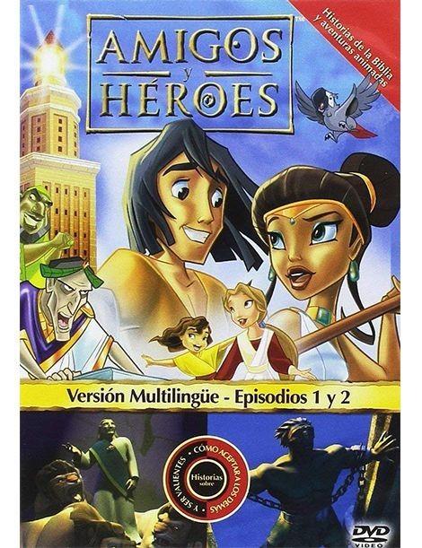 Amigos y Héroes 1 DVD Dibujos animados con valores
