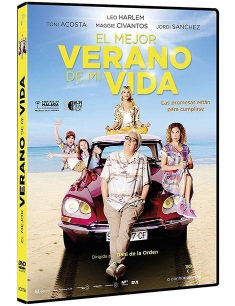 Película en DVD EL MEJOR VERANO DE MI VIDA