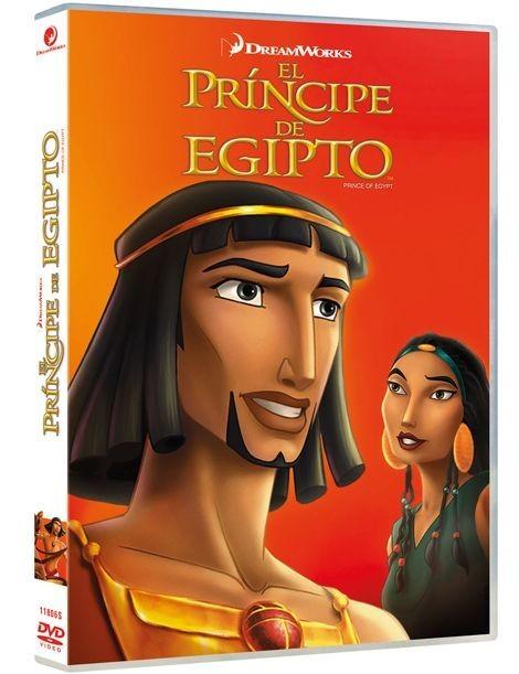 El Píncipe de Egipto (DVD)