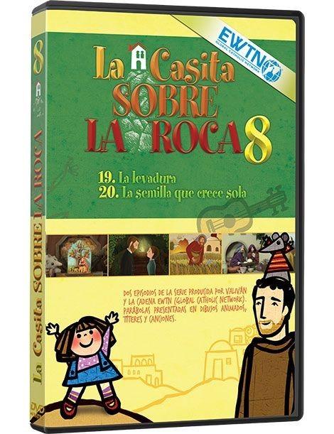 Película en DVD LA CASITA SOBRE LA ROCA 8