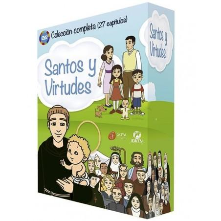 Pack Santos y Virtudes (4DVDs) Colección completa
