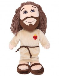 Peluche Jesús adulto