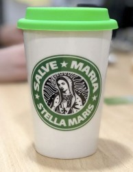 Vaso para café - Take Away - Stella Maris