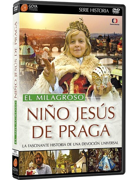 dvd El Milagroso Niño Jesús de Praga