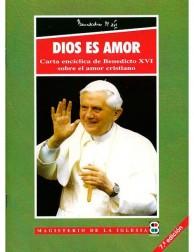 libro DIOS ES AMOR - CARTA ENCÍCLICA