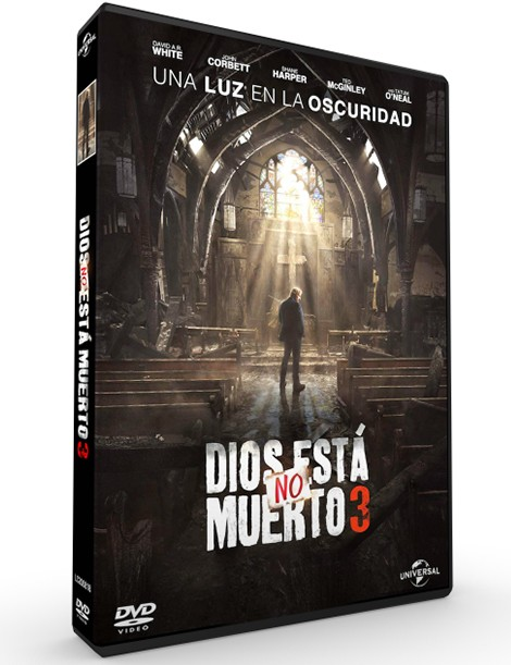 Película en DVD Dios no está muerto 3: Una Luz en la oscuridad
