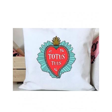 Cojín - Totus Tuus (Inmaculado Corazón de María)