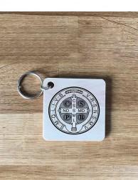 Llavero de madera - Medalla...