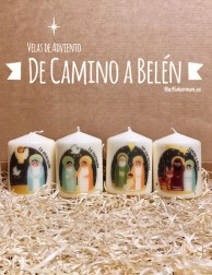 Kit de Velas de Adviento -...