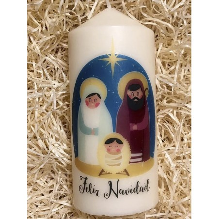 Vela - Feliz Navidad (Con oraciones para su encendido)
