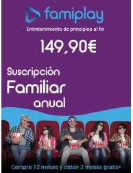 Famiplay suscripción Familiar anual