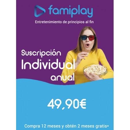 Famiplay suscripción Individual anual