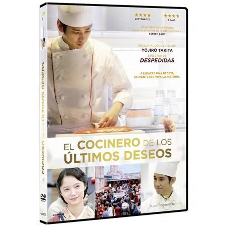 El cocinero de los últimos deseos (DVD)