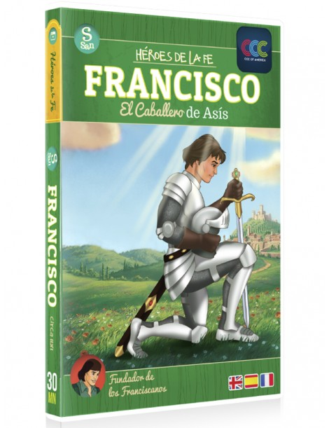 Francisco: Caballero de Asís DVD Dibujos animados religiosos