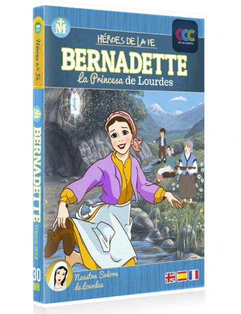 Bernadette: La princesa de Lourdes. Dibujos infantiles para niños