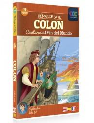 Colón: aventuras al fin del mundo DVD Dibujos animados religiosos