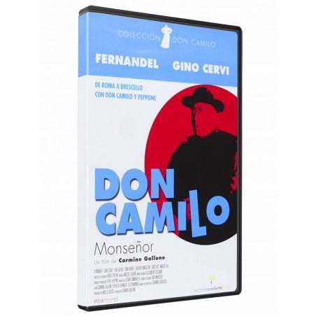 Don Camilo Monseñor clasico DVD