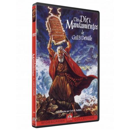 Los Diez Mandamientos DVD película