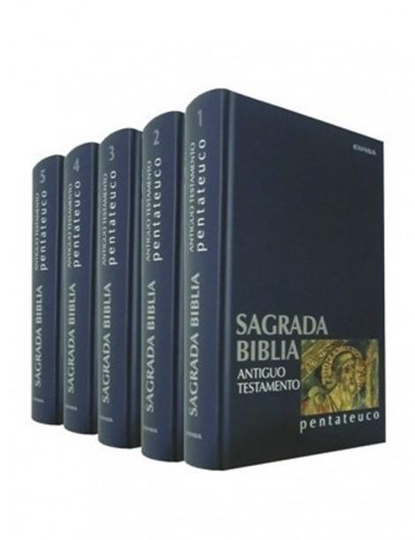 Sagrada Biblia (5 tomos)