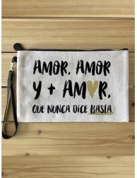 Estuche neceser · Amor, amor y más amor