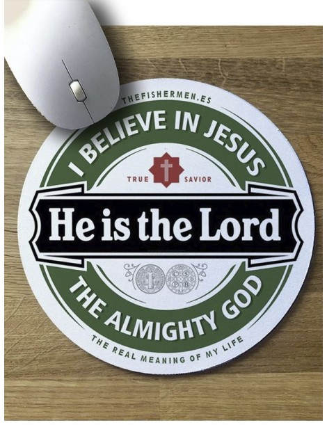 Alfombrilla de Ratón · He is the Lord