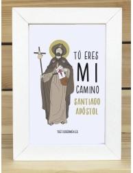 Cuadro · Tú eres mi camino (Santiago)