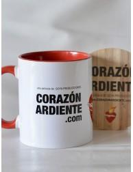 """Taza oficial """"Corazón Ardiente"""""""