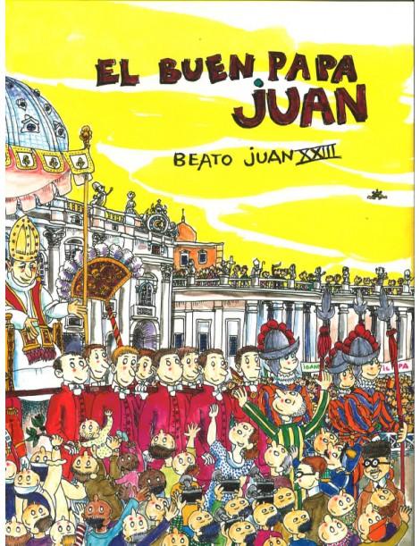 El buen Papa Juan (Cómic) beato Juan XXIII