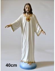 Figura grande Sagrado Corazón de Jesús - Cerro de los Ángeles (COLOR 40 cm)
