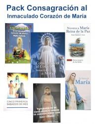 Pack Consagración al Inmaculado Corazón de María