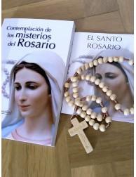 Pack Rosario de madera +...