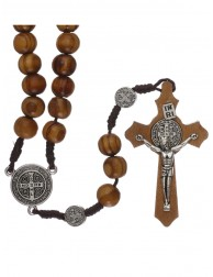 Olive Wood Rosary Medal...