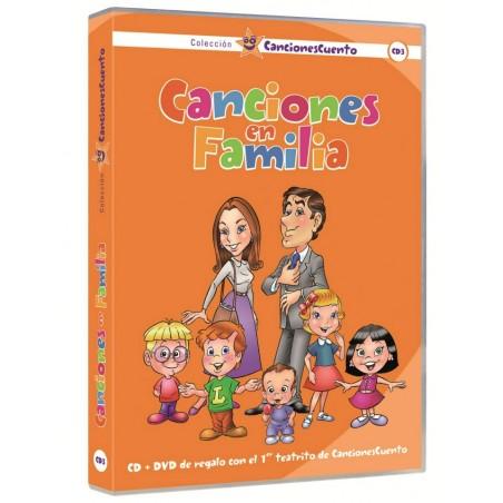 Canciones en Familia (CancionesCuento 3) - CD + DVD