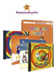 Pack completo CancionesCuento (5 CDs + 1 DVD)