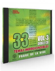 """Padre de la Vida"" (33 Temas imprescindibles) Vol-3- CD"