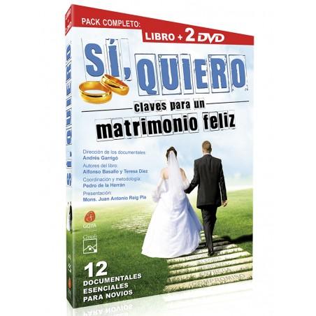 SÍ, QUIERO: Claves para un Matrimonio Feliz (Libro + 2 DVDs)
