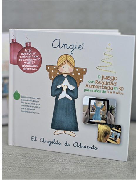 Angie, el Angelito de Adviento (Libro y app móvil calendario de Adviento)