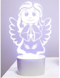 Lámpara Ángel de la Guarda (Transparente)