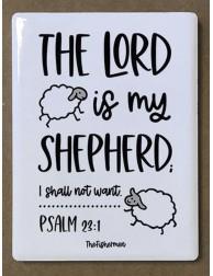 Imán cerámico · The Lord is...