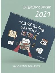 Calendario Anual 2021 · Deja que sea Dios quien escriba tu historia