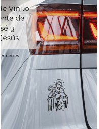 Pegatina vinilo · San José...