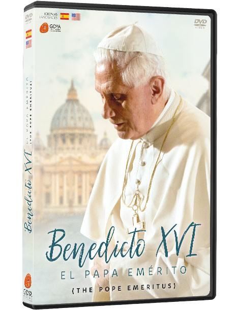DVD Benedicto XVI, el Papa Emérito