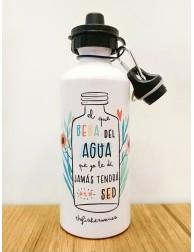 Botella de agua /...