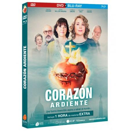 Corazón Ardiente (combo DVD + BLU-RAY)